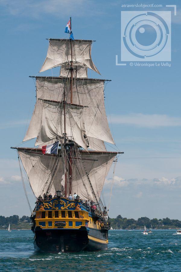 bateau de peche breton a trois mâts