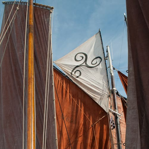 Voiles traditionnelles